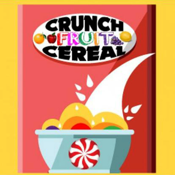 Aroma Flavor West Crunch Fruit Cereal 10...