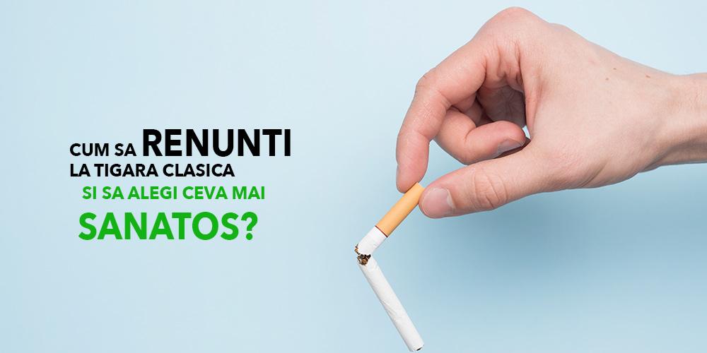 Cum sa renunti la tigara clasica si sa alegi ceva mai sanatos?
