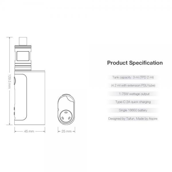 Kit Aspire Nautilus GT - SS