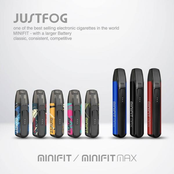 Kit Minifit Max by Justfog - Blue