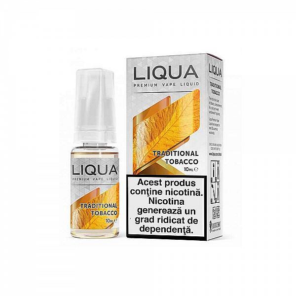 Lichid Liqua Traditional Tobacco 10 ml
