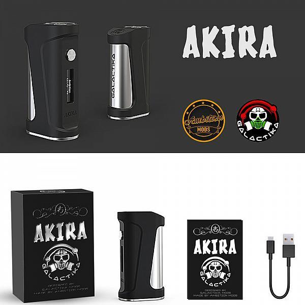 Mod Akira 75W - Ambition Mods X Galactika Mod - White