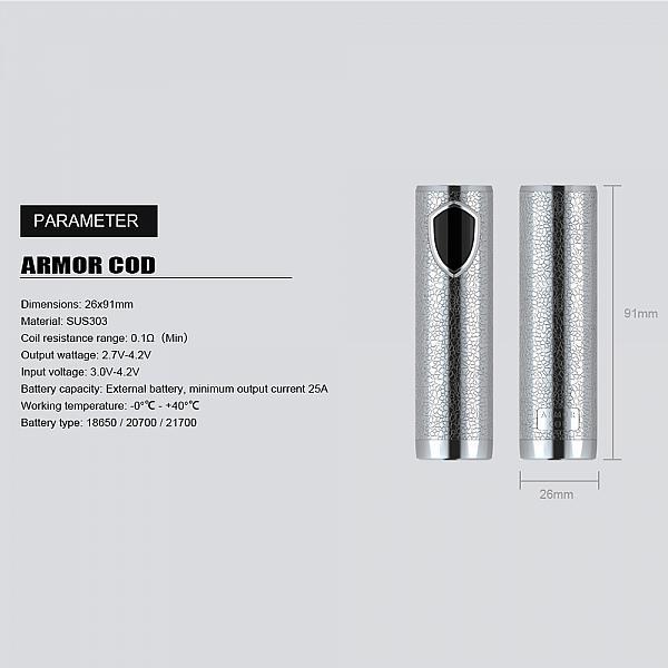 Mod Ehpro Armor COD Semi Mech - SS