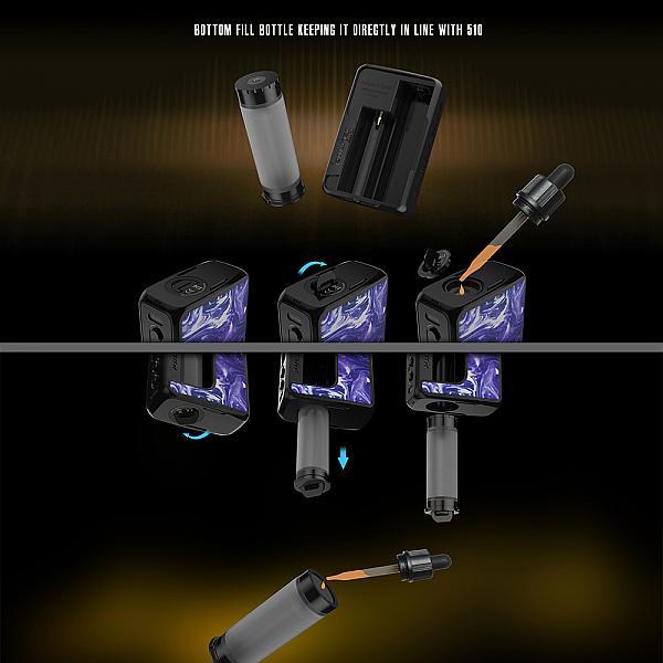 Mod Pulse II BF 95W Vandy Vape - Sky Blue Resin