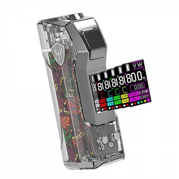 Mod JellyBox Mini 80W - Rincoe - Full Clear