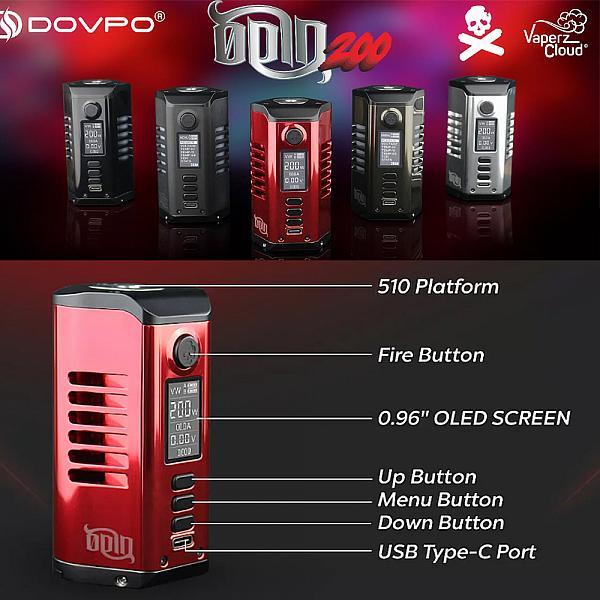 Mod Odin 200 - Dovpo/Vaperz Cloud - Black