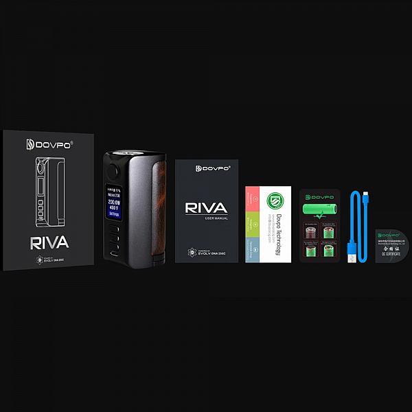 Mod Riva DNA250C - Dovpo - Gunmetal Vintage Brown