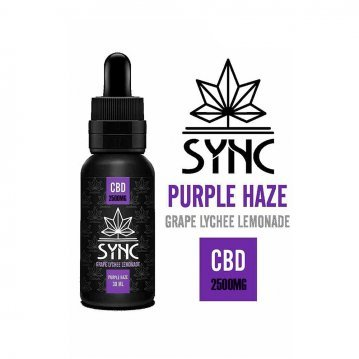 Lichid Sync Purple Haze CBD 2500mg 30ml