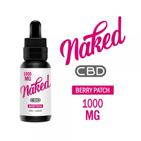 Lichid Naked Berry Patch CBD 1000mg 30ml...