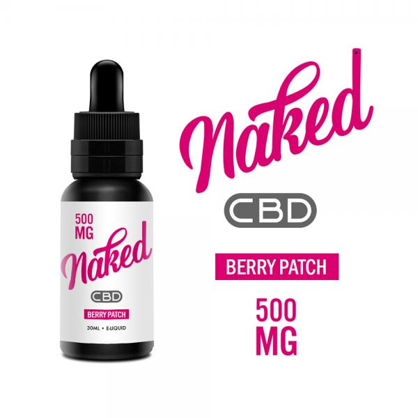 Lichid Naked Berry Patch CBD 500mg 30ml