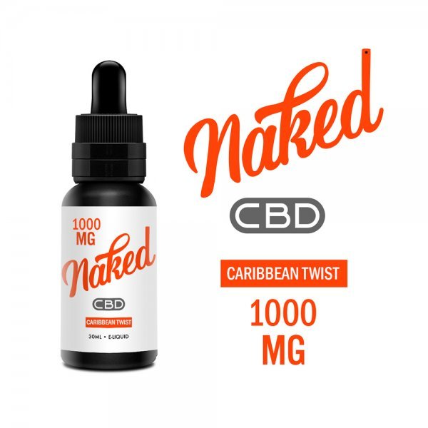 Lichid Naked Caribbean Twist CBD 1000mg ...