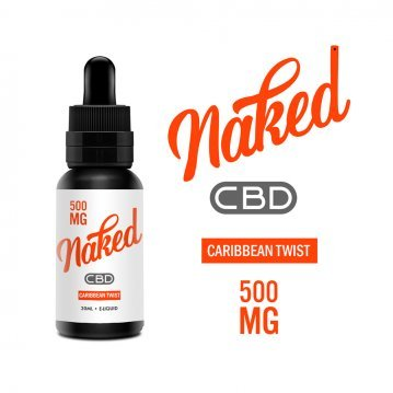 Lichid Naked Caribbean Twist CBD 500mg 30ml