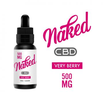 Lichid Naked Very Berry CBD 500mg 30ml