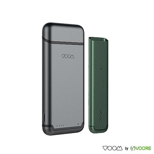 Baterie VOOM - Green + Power Bank - Dark Gray
