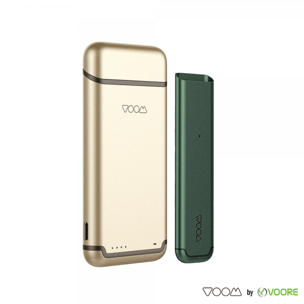 Baterie VOOM - Green + Power Bank - Gold