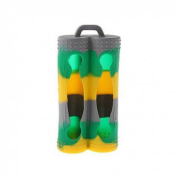 Husa Acumulatori Dubla - Gri Multicolor