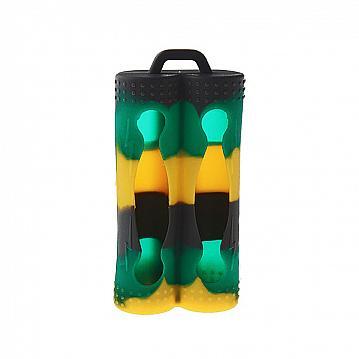 Husa Acumulatori Dubla - Negru Multicolor