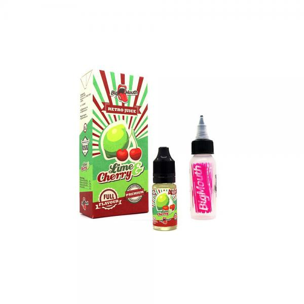 Aroma BigMouth Lime and Cherry 10 ml