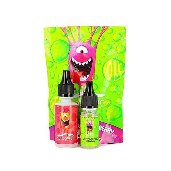 Aroma Strawberry Raspberry Lime Mint Sensation Malaysian 10ml