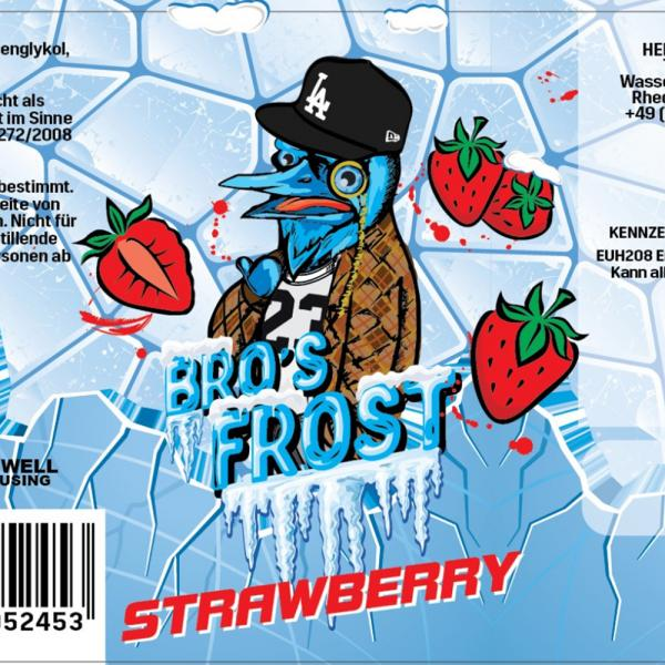 Arome The Bro's - Frost Strawberry 20ml