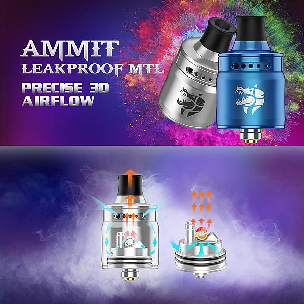 Atomizor Ammit MTL RDA Geekvape - SS
