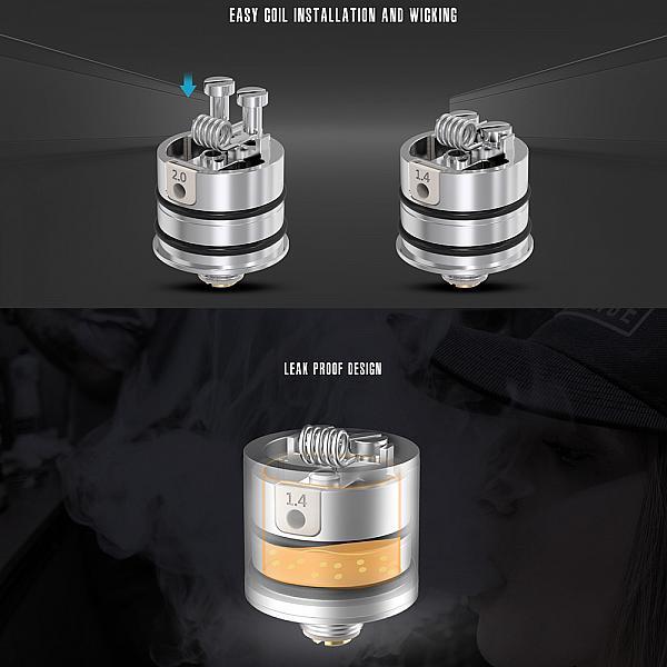 Atomizor Berserker V2 MTL RDA Vandy Vape - SS