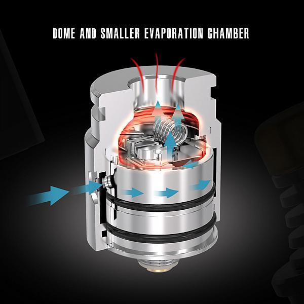 Atomizor Berserker V2 MTL RDA Vandy Vape - Matte Black