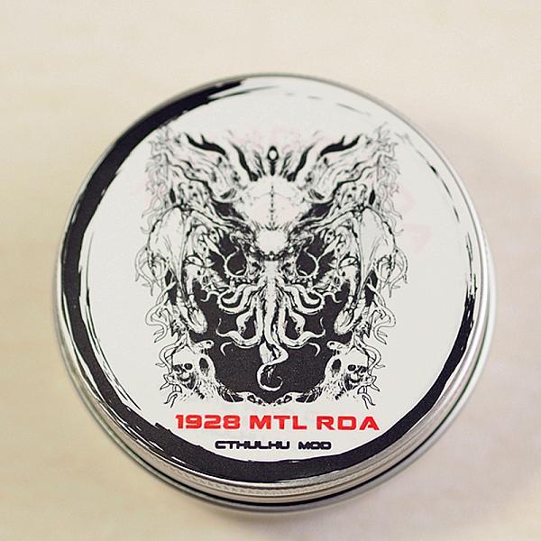 Atomizor Cthulhu 1928 MTL RDA - Black