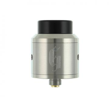 Atomizor Goon RDA 25mm by 528 Custom Vapes - Silver