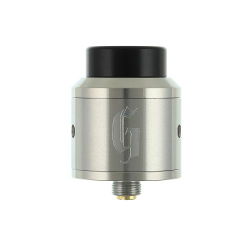 Atomizor Goon RDA 25mm by 528 Custom Vapes - Silver