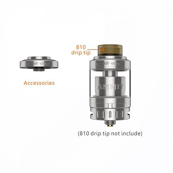 Atomizor AMMIT 25mm Single Coil - Blue