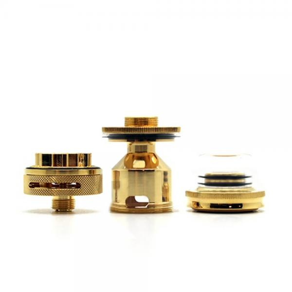 Atomizor Petri RTA 22mm by Dotmod - Gold