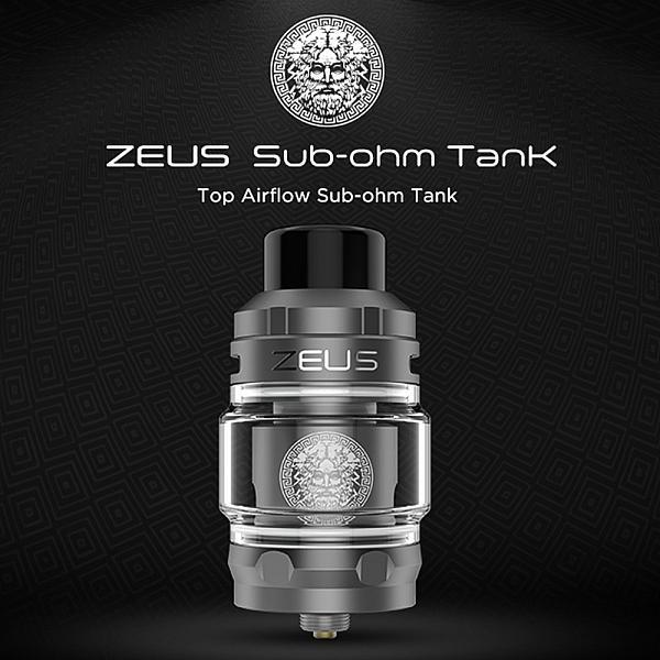 Atomizor Zeus Sub-ohm - Geekvape - Black