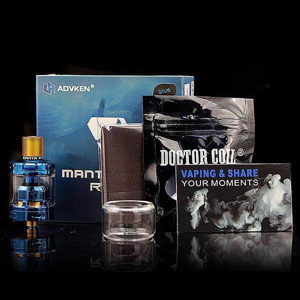 Atomizor Manta MTL RTA by Advken - Black