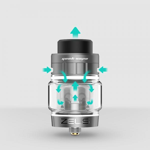 Atomizor Zeus Dual RTA by Geekvape - SS