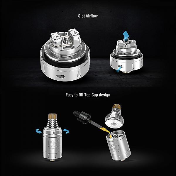 Atomizor Berserker V1.5 Mini MTL RTA Vandy Vape - Gun Metal