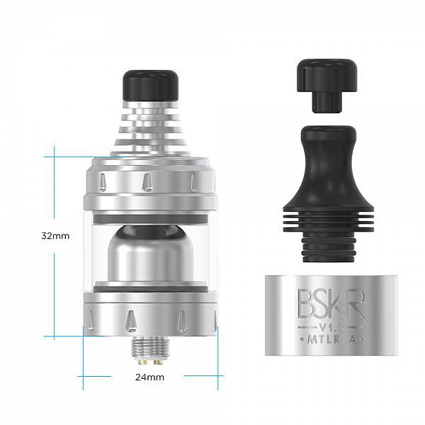 Atomizor Berserker V1.5 MTL RTA Vandy Vape - Matte Black