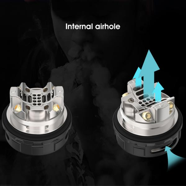 Atomizor Kylin V2 RTA Vandy Vape - Frosted Grey