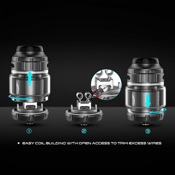 Atomizor Zeus X RTA Geekvape - Blue