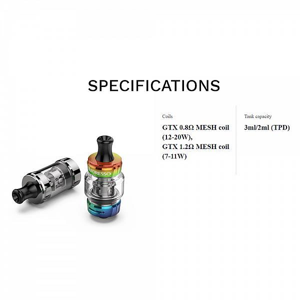 Atomizor GTX 18 - Vaporesso - Silver