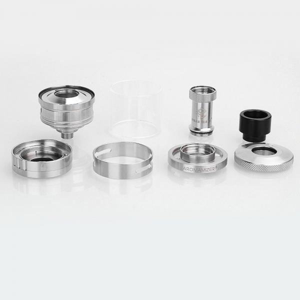 Atomizor Aromamizer RDTA PLUS by Steam Crave - Silver
