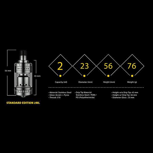 Atomizor Exvape Expromizer V4 - Polished