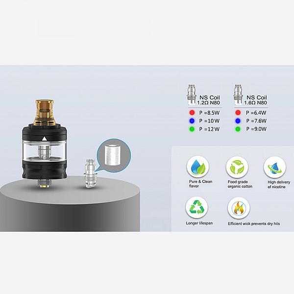 Atomizor Flint MTL Geekvape - Gunmetal