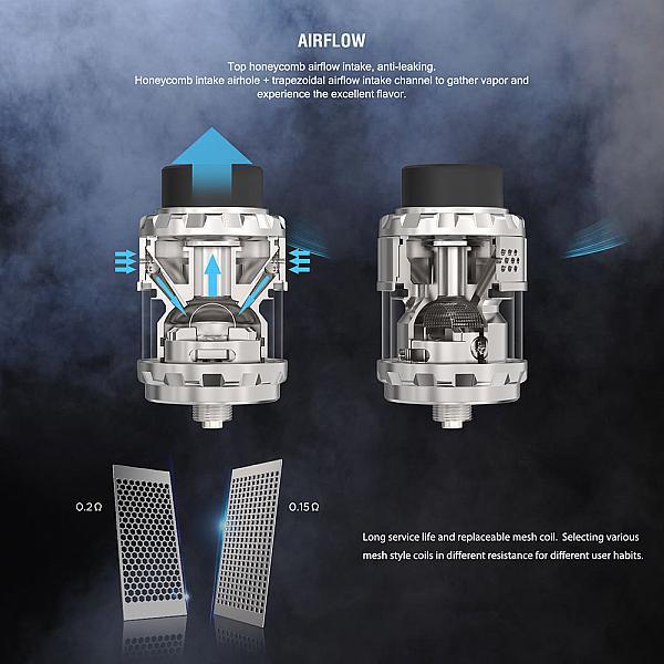 Atomizor Kylin M RTA Vandy Vape - Gun Metal
