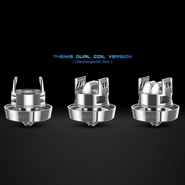 Atomizor Themis Dual Coil RTA 5ml SS