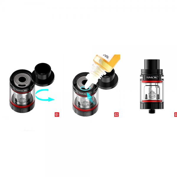 Atomizor TFV8 X-Baby 2ml - Black