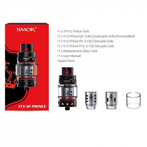 Atomizor SMOK TFV12 Prince Black