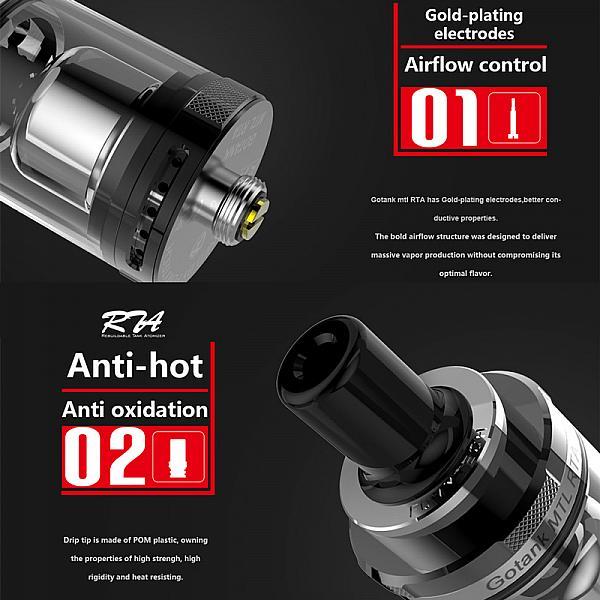 Atomizor Gotank MTL RTA by Fumytech