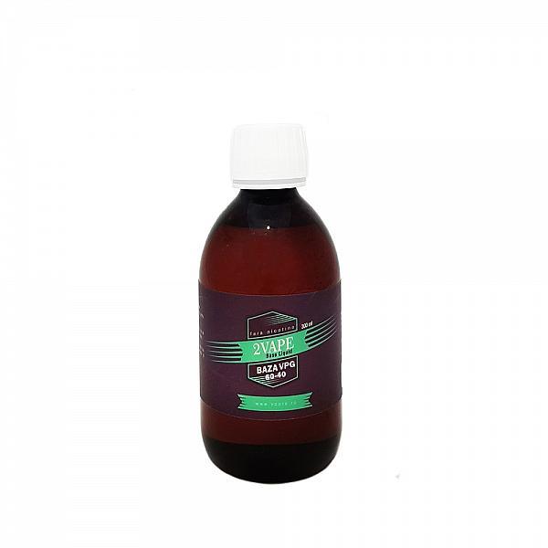 300ml Baza 2Vape VG(60%) / PG(40%) 0 mg