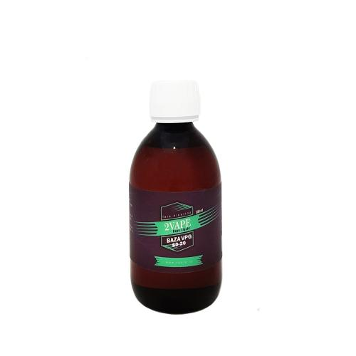 300ml Baza 2Vape VG(80%) / PG(20%) 0 mg
